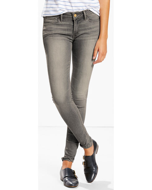 Levi's Women's 535 Tossed Smoke Super Skinny Jeans, Indigo, hi-res