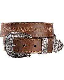 Ariat Women's Western Leather Belt, , hi-res