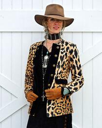 Tasha Polizzi Women's Leopard Print Diva Jacket , , hi-res