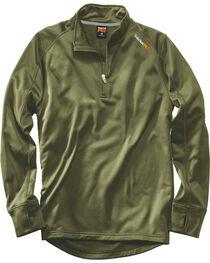 Timberland PRO Men's Green Understory Fleece Top , , hi-res