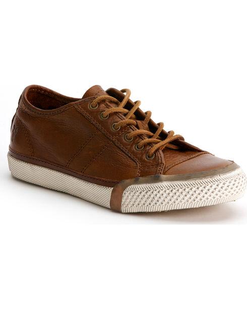 Frye Women's Greene Low Lace Sneakers, Cognac, hi-res