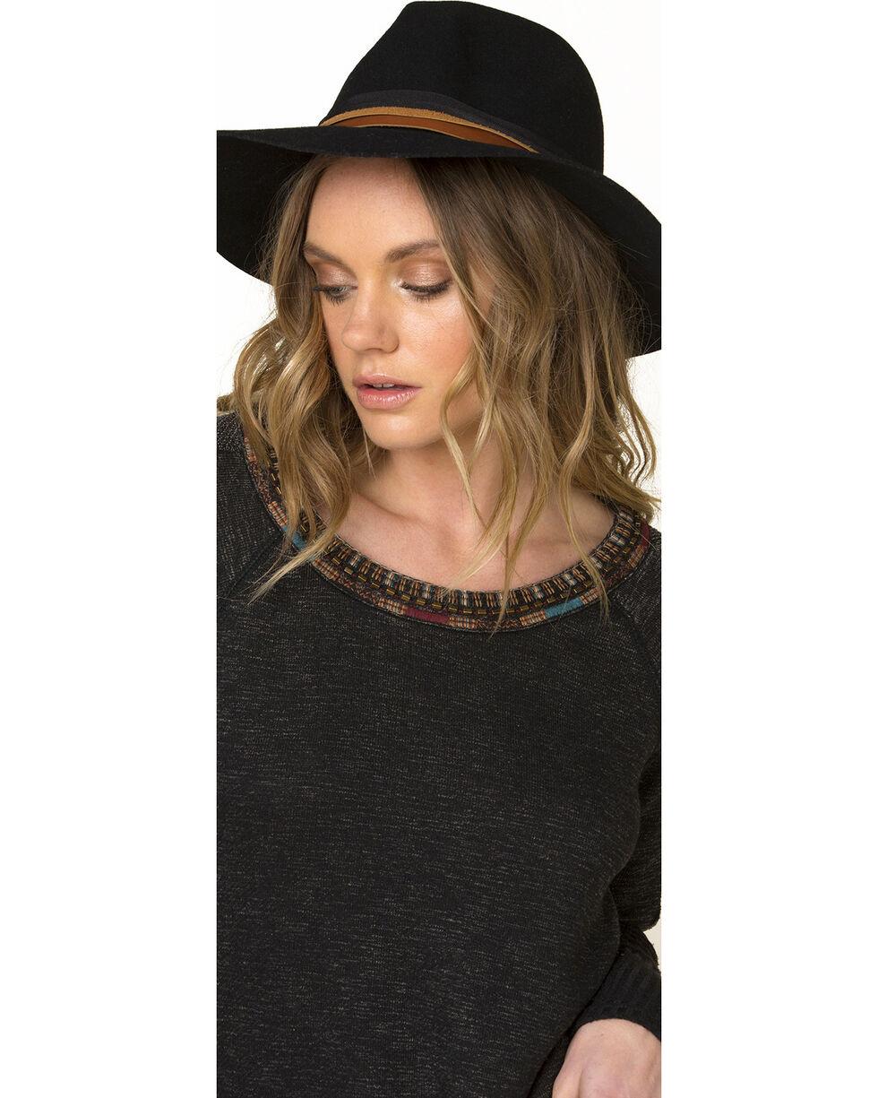 Miss Me Women's Black World Traveler Sweater, , hi-res