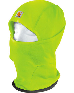Carhartt Men's Bright Green Force Helmet Liner Mask , Bright Green, hi-res