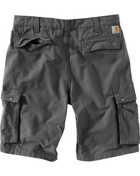 Carhartt Men's Grey Rugged Cargo Donley Shorts , Grey, hi-res