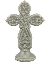 Stonebriar Ceramic Cross Pedestal, , hi-res