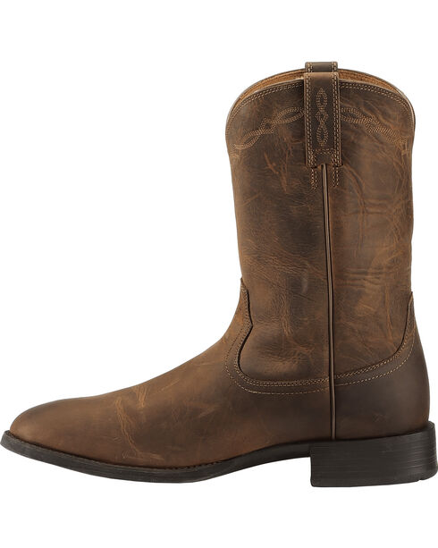 "Ariat Men's Heritage Roper 10"" Western Boots, Brown, hi-res"