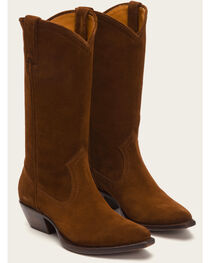 Frye Women's Brown Sacha Tall Boots - Pointed Toe , , hi-res