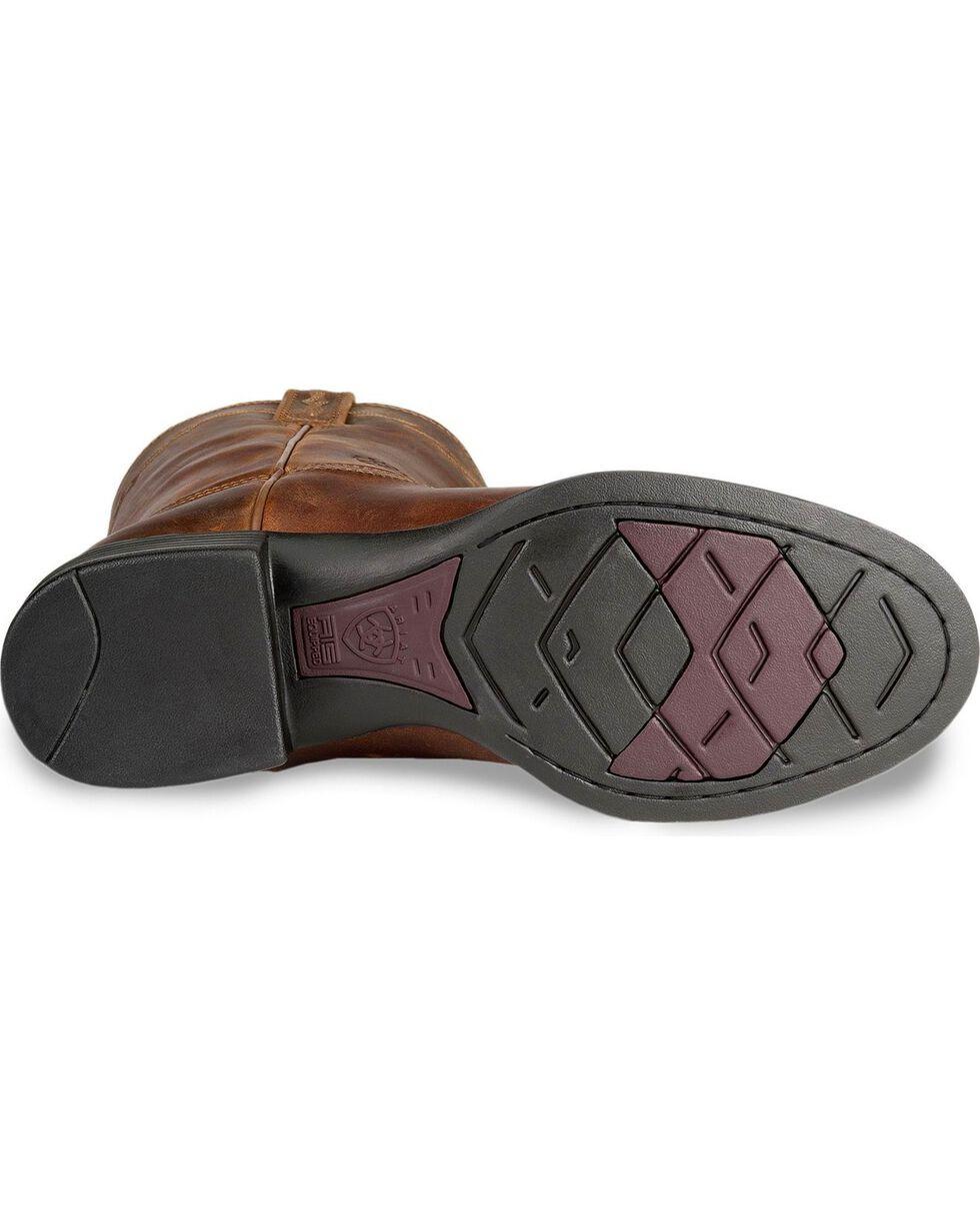 "Ariat Men's Heritage Roper 10"" Western Boots, Distressed, hi-res"