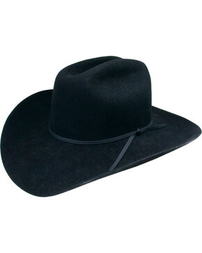 Stetson Boys' Black Rodeo Jr. Wool Felt Cowboy Hat, Black, hi-res