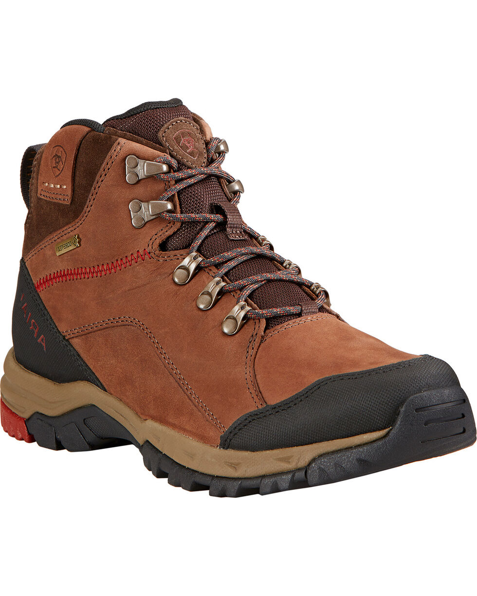 Ariat Men's Skyline Mid GTX Hiking Boots, Chocolate, hi-res