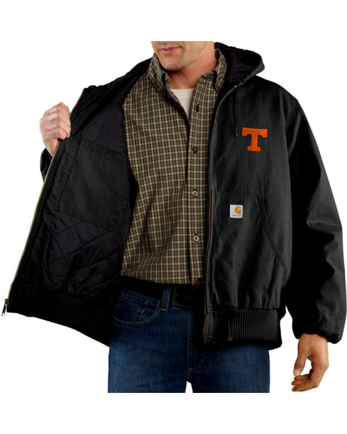 Carhartt Men's Tennessee Ripstop Active Jacket - Tall , Black, hi-res