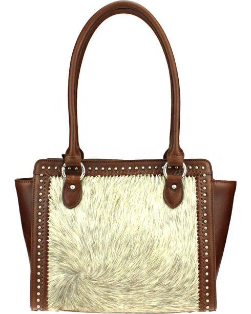 Montana West Natural Delila 100% Genuine Leather Hair-On Hide, Natural, hi-res