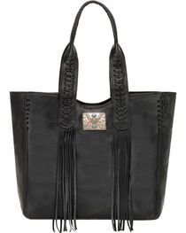 American West Women's Mohave Canyon Large Zip Top Tote, , hi-res