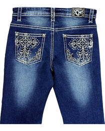 Cowgirl Hardware Girls' Cross Embroidered Jeans (7-16), , hi-res