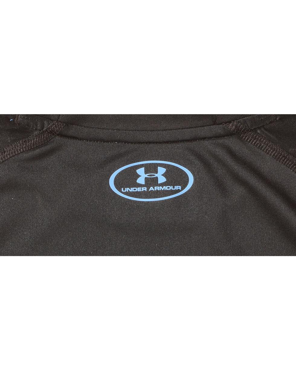 Under Armour Boys' Black Fish Hunter Tech Long Sleeve Shirt , Black, hi-res