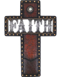 BB Ranch® Faith Cross Wall Decor, , hi-res