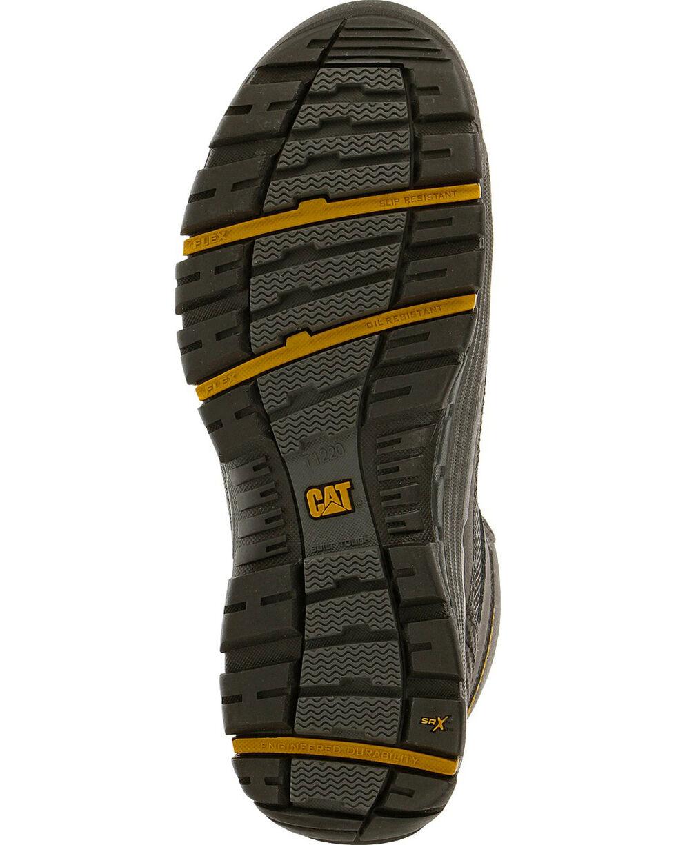 Caterpillar Men's Black Convex Mid Work Boots - Steel Toe , , hi-res