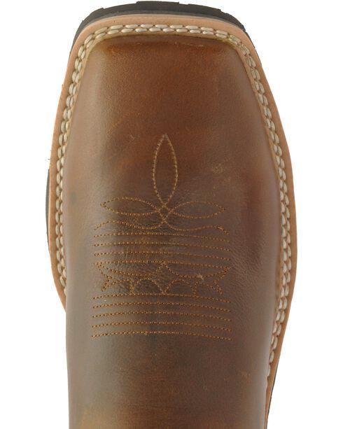 Tony Lama 3R Comanche Work Boots - Composition Toe, Brown, hi-res