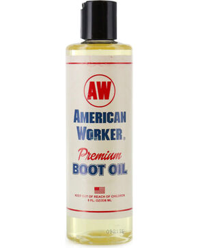 American Worker® Premium Boot Oil, Tan, hi-res