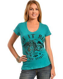 Liberty Wear Women's Let It Ride Tee, , hi-res