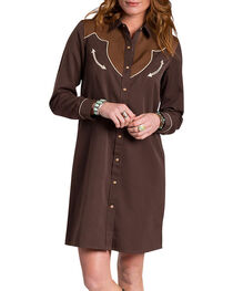 Resistol Women's Autry Shirt Dress, , hi-res