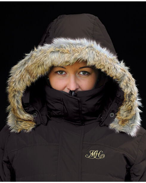 Mountain Horse Women's Belvedere Coat, Black Out, hi-res