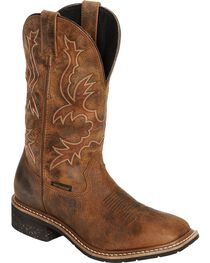 Dan Post Men's Nogales Waterproof Western Work Boots, , hi-res