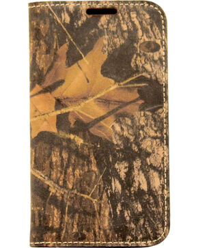 Nocona Mossy Oak Camo Leather Galaxy S4 Case Wallet, Mossy Oak, hi-res