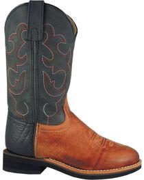 Smoky Mountain Toddler Boys' Seminole Western Boots - Round Toe, , hi-res