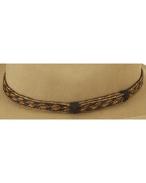 Austin Accent Braided Horsehair Hat Band, , hi-res
