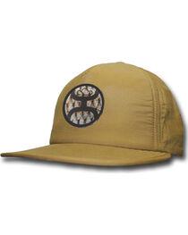 Hooey Men's Khaki Treble 5 Panel Baseball Cap , , hi-res