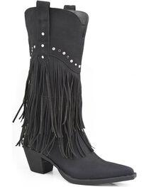 Roper Women's Fringe Western Boots, , hi-res