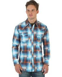 Wrangler Retro Men's Long Sleeve Spread Collar Shirt, , hi-res