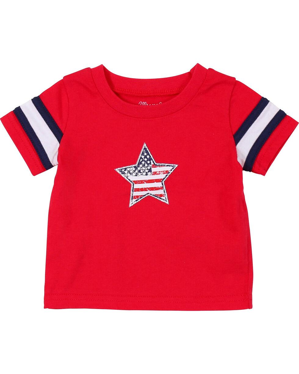 Wrangler Infant/Toddler Boys' Red Star Short Sleeve Tee (12-24 mo.), , hi-res