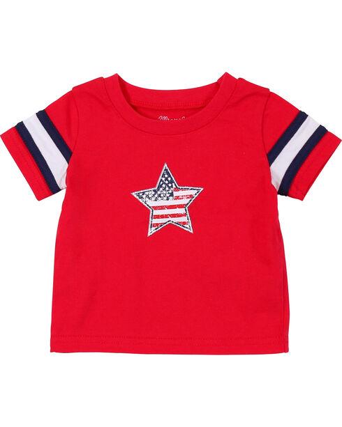 Wrangler Toddler Boys' Red Star Short Sleeve Tee, Red, hi-res