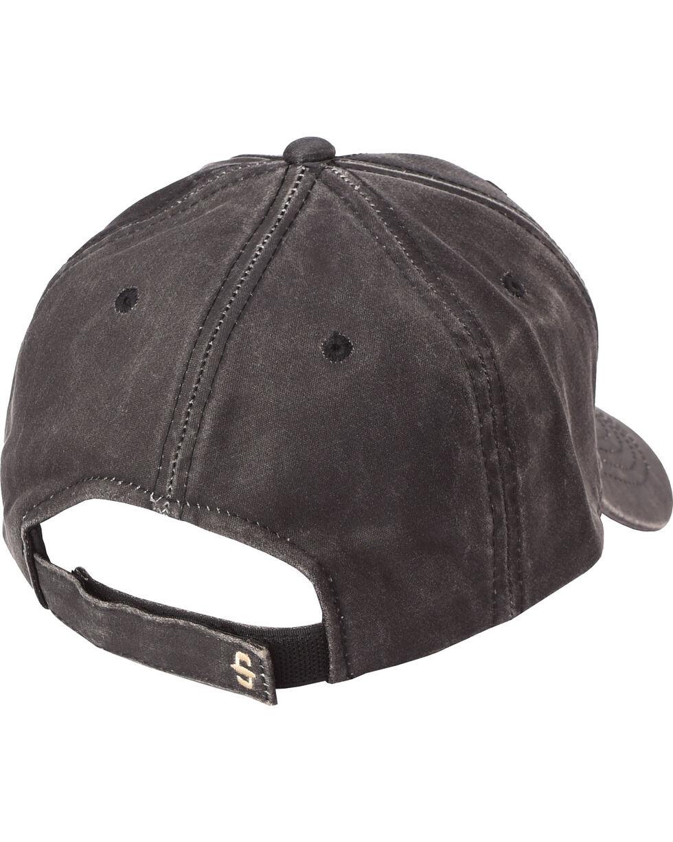 Stetson Men's Oil Skin Ball Cap, Black, hi-res