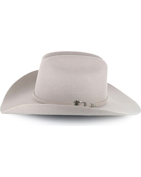 Cody James® Men's Moab 3X Pro Rodeo Brim Wool Hat, Silverbelly, hi-res