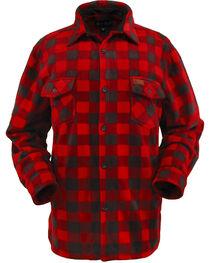 Outback Trading Men's Big Fleece Long Sleeve Shirt, , hi-res