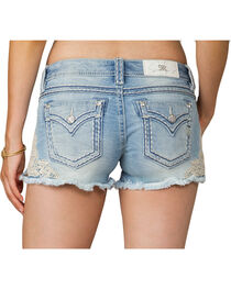 Miss Me Women's Lace Be A Lady Shorts, , hi-res