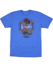 Wrangler Men's Authentic Original Boot T-Shirt, , hi-res