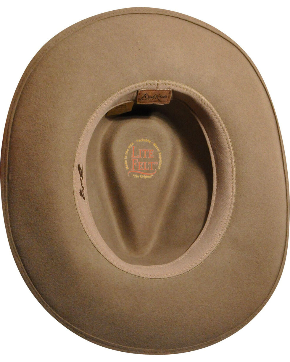 Wind River by Bailey Men's Nock Putty Western Hat, , hi-res