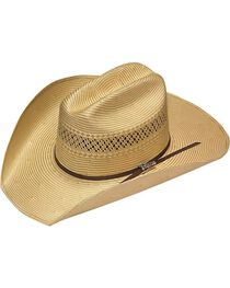 Twister 10X Shantung Double S Straw Cowboy Hat, , hi-res
