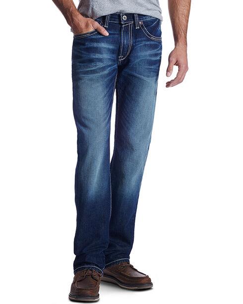 Ariat Men's Caldwell Roundup M5 Straight Leg Jeans, Indigo, hi-res