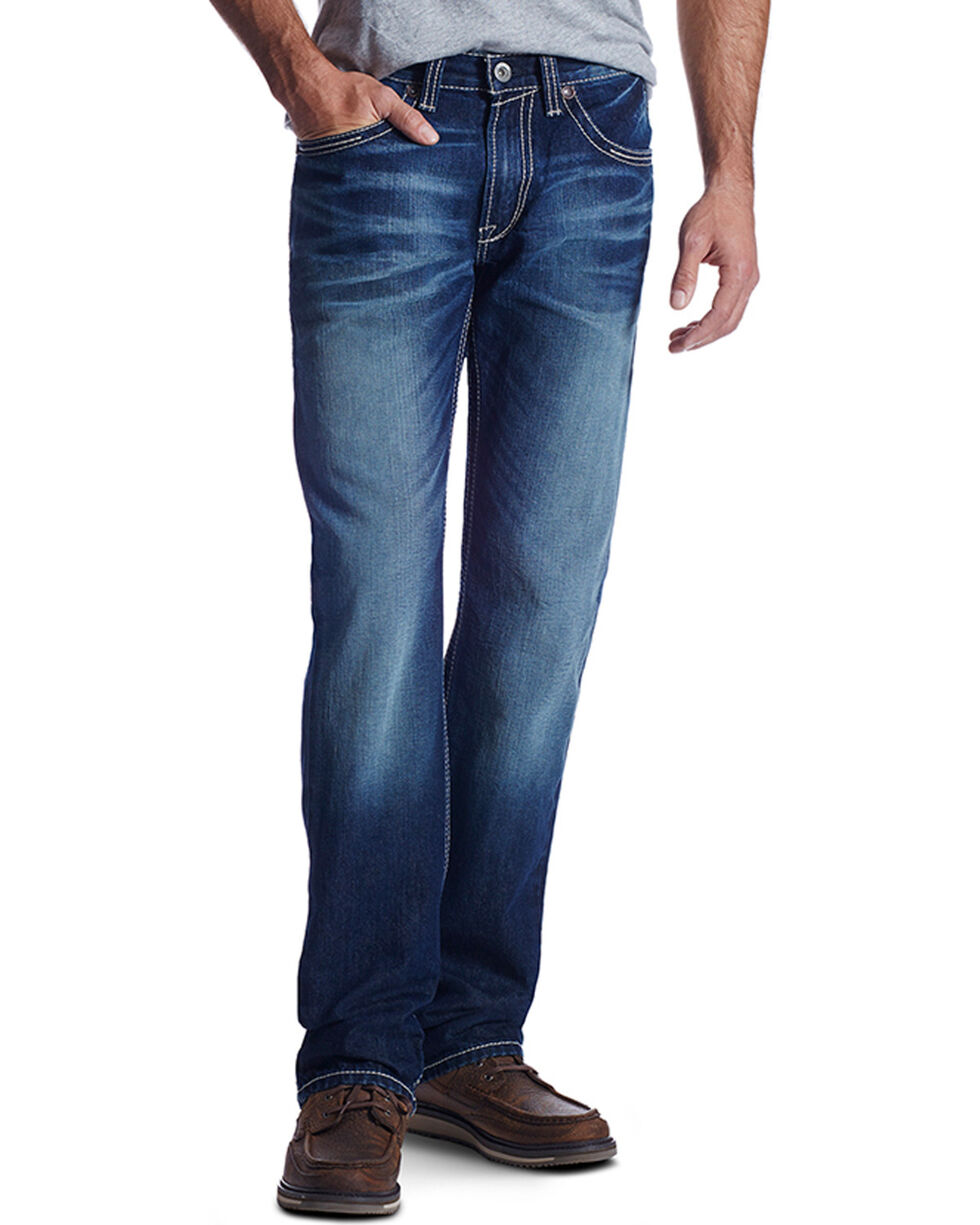 Ariat Men's Caldwell Roundup M5 Straight Leg Jeans, , hi-res