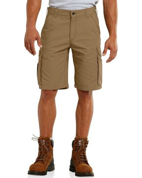 Carhartt Force Tappan Cargo Shorts, Brown, hi-res