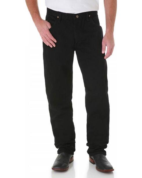 Wrangler Men's Black Premium Performance Cowboy Cut Regular Fit Jeans, Black, hi-res