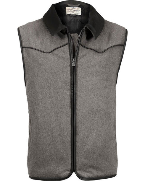 Cody James Men's Riffleman Insulated Wool Vest, , hi-res