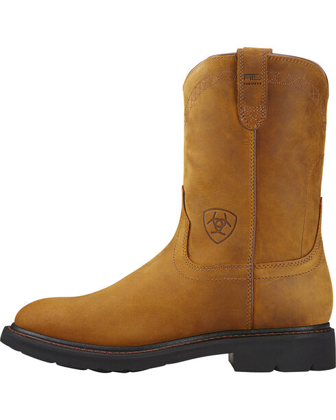 Ariat Men's Sierra Work Boots, Aged Bark, hi-res