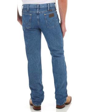 Wrangler Men's Premium Performance Slim Fit Jeans, Dark Stone, hi-res