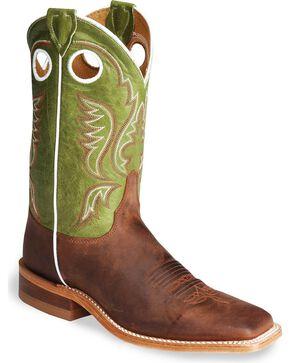 Justin Men's Bent Rail Collection Western Boots, Cognac, hi-res